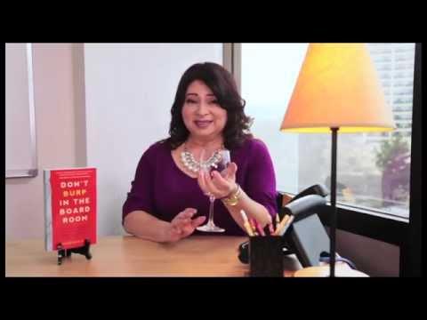 Rosalinda Randall - The Proper Way to Hold a Wine Glass