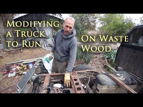 Modifying a Truck to Run on Waste Wood Part 2