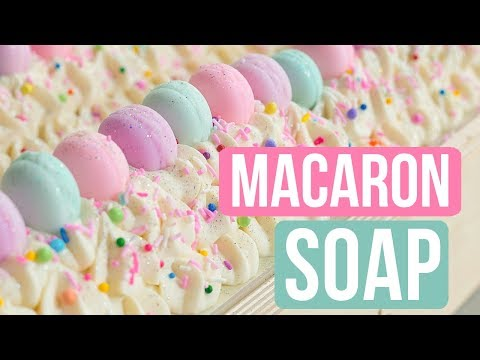 Macaron Party Soap | Royalty Soaps
