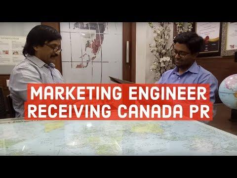 Yuvraj, Marketing Engineer, Our Canadian PR visa got receiving his visa paper from Manoj Palwe