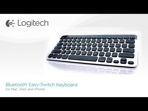 Logitech Bluetooth Easy-Switch Keyboard for Mac, iPad and iPhone