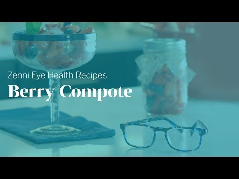 Eye Health Recipes: Berry Compote