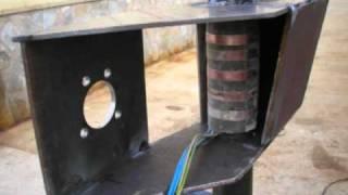 Aerogenerador eolico de 4800w de fabricacion casera