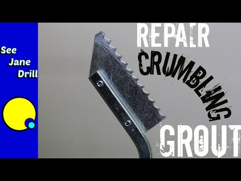 How to Repair Damaged Bathroom Grout for Beginners