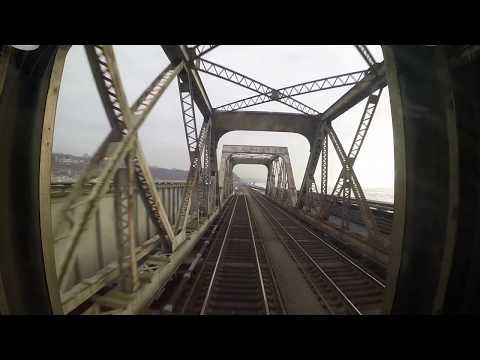 Metro North Hudson Line - Yonkers to North Croton Harmon Rear View (Express!)