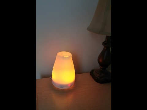 Adoric Aromatherapy Essential Oil Diffuser, Cool Mist Humidifier, 7 Color LED Lights