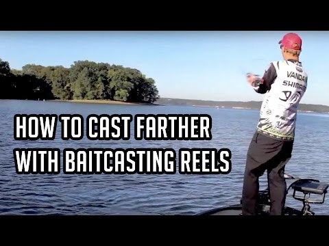 How to Cast Farther with Baitcasters in Bass Fishing