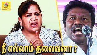 அரசியலுக்கு வாங்கனு யாரு அழுதா ? : Prof. Sundaravalli Bold statement against Karunas | Interview
