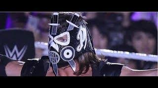 WWE AJ Styles MASK WWE Entrance 2017 - WWE NEWS AJ Styles Debuts NEW MASK!