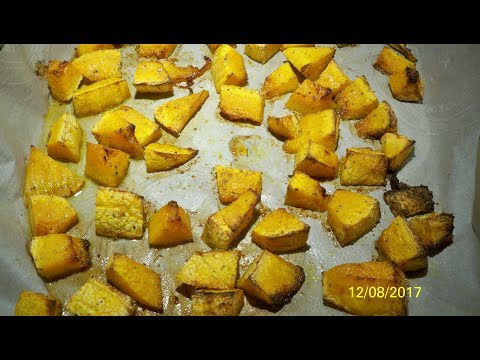 Cubed & Baked Butternut Squash Keto WOE