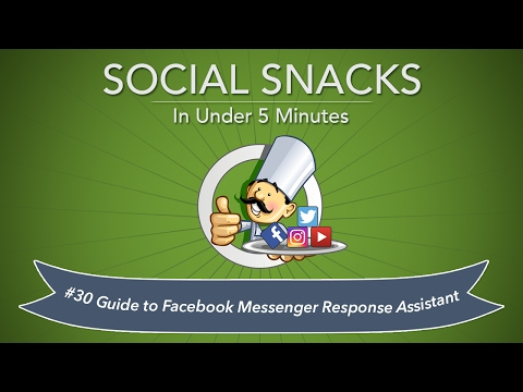 How to Use Facebook Response Assistant for Facebook Pages to Create Auto Reply Messages