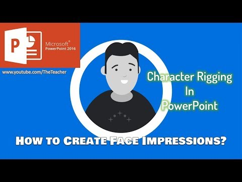 How to Make Character Face Impressions | PowerPoint 2016 Character Rigging Tutorial