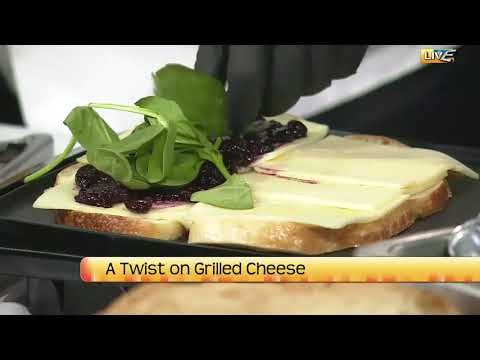 NDT A twist on grilled cheese