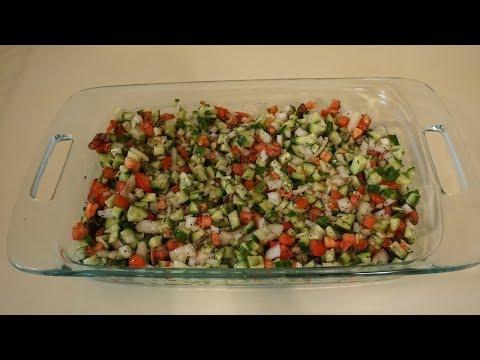 Recipe Salad Shirazi