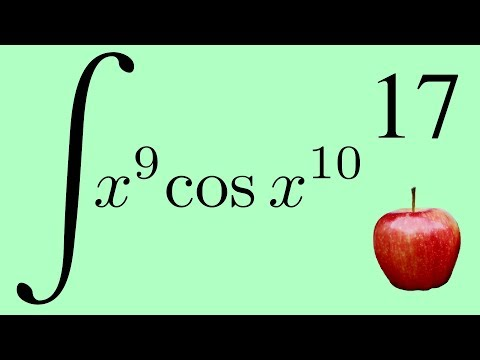 The Integral of x⁹cos x¹⁰ and the Right Way to Think About Integration by Substitution