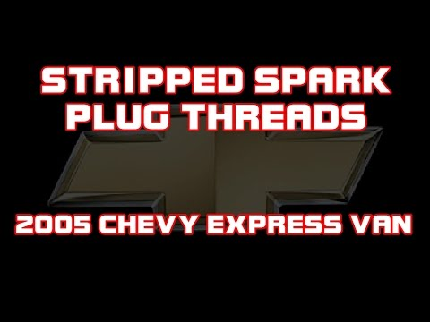 ⭐ 2005 Chevy Van - Stripped Spark Plug Threads - Heli-Coil Repair Kit 5334-14