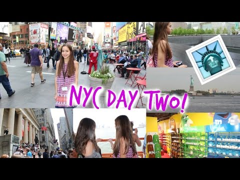 NEW YORK CITY! DAY 2 | Times Square,The Lion King on Broadway