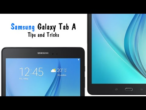 Samsung Galaxy Tab A - Tips and Tricks​​​ | H2TechVideos​​​