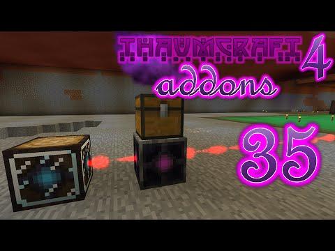 Minecraft Thaumcraft 4 Addons #35 - Levitational Locomotive