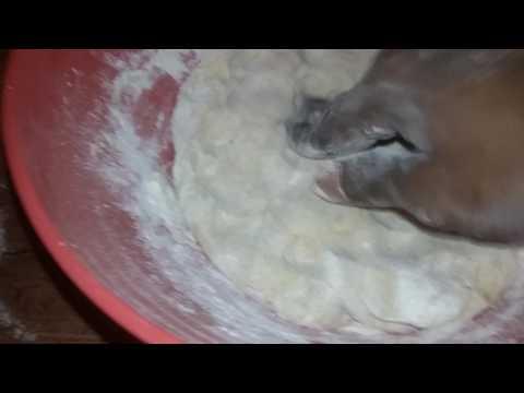 Baking powder and yeast free spelt bread. Homemade