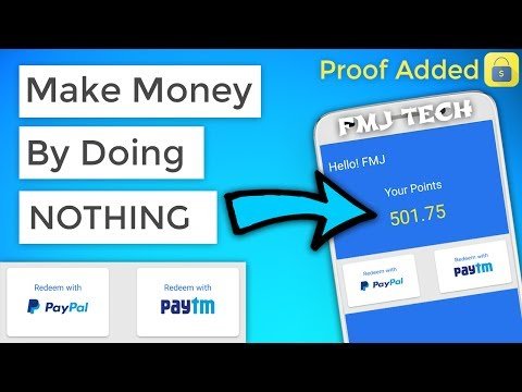 Make Money By Doing NOTHING On Android  [PROOF ADDED] 😍