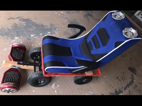 DIY HOVERBOARD HOVER SEAT