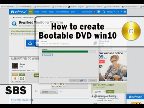 Best way to make Windows 10 Bootable DVD Easily - Works on every windows version