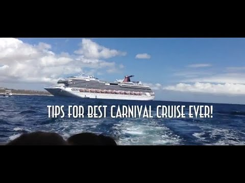 10 Tips For Best Carnival Cruise Ever - In The Mix with HK™