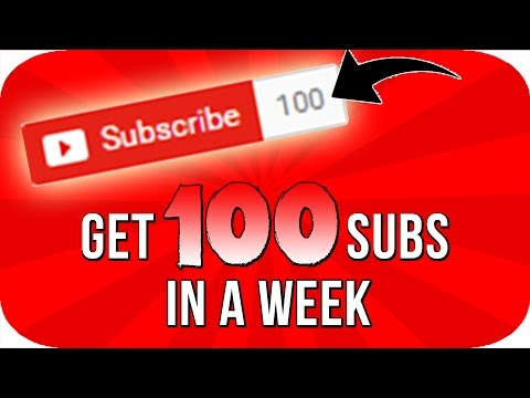 How To Get Your First 100 Subscribers In Just 1 Week!