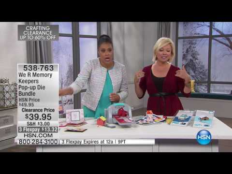 HSN | Crafting Clearance Up To 60% Off 02.06.2017 - 03 PM