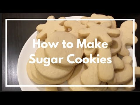 Fool-Proof Soft Sugar Cookie Recipe