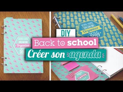 DIY BACK TO SCHOOL // Créer son agenda