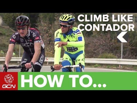 How To Climb Like Alberto Contador