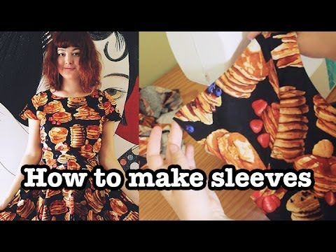 How To Make Cap Sleeves