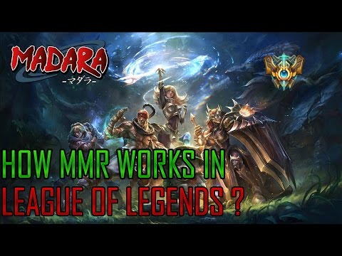How does MMR/matchmaking work in LOL ranked ?