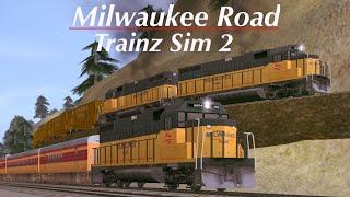 Trainz Simulator 2: ATSF Morning Freight leaves Jefferson Yard