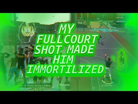 FULL COURT SHOT TO BECOME IMMORTILIZED - 99 OVERALL KEVIN DURANT BUILD - NBA 2K18