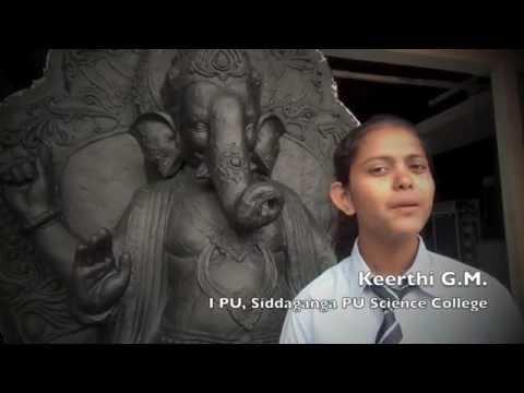 Paper Ganesha - Siddaganga School