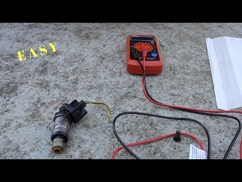 How To Check Fuel Injector Resistance With a Multimeter  EASY