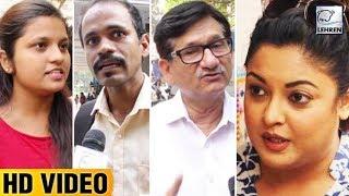 Public Opinion On Tanushree Dutta And Nana Patekar