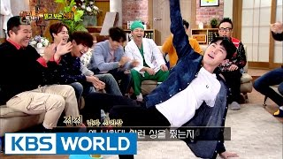 Award acceptance speech tips for Hyunkyung! Dancing is a must [Happy Together / 2017.01.19]
