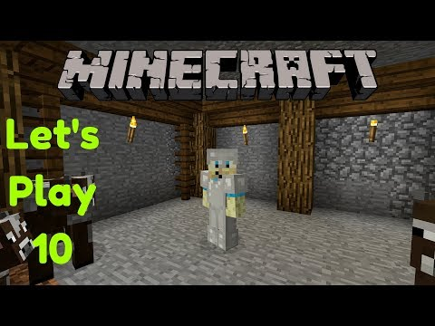 Minecraft Let's Play Part 10   Making a Cow Pen