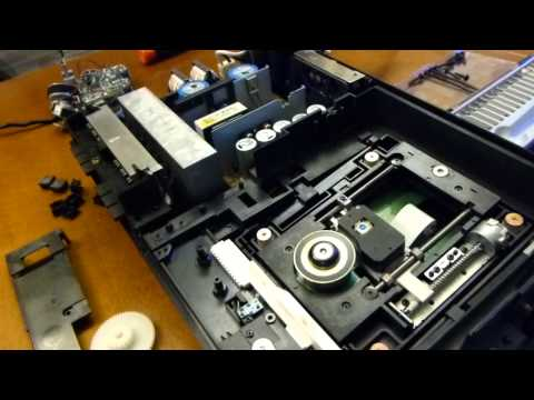 [vlog] PS2 repair/cleaning: Fixing PS2 disc tray mechanism, part 3