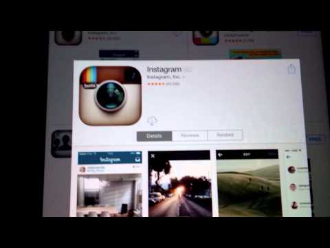 Install the Official Instagram App to the iPad