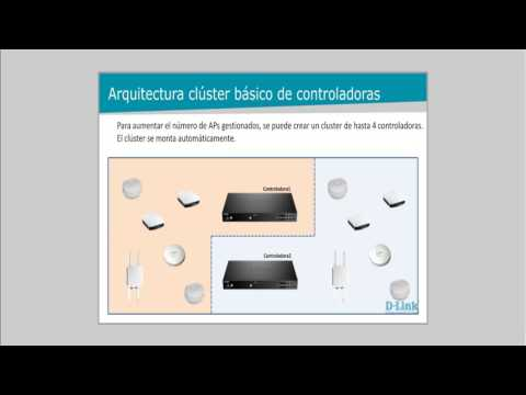 D-Link Webinar: Alta disponibilidad en controladoras WiFi Profesional (10-03-2017)
