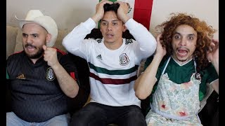MEXICAN PARENTS REACT to MEXICO VS GERMANY| 2018 World Cup