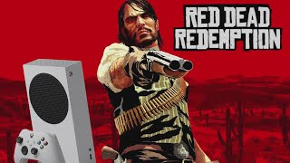 Red Dead Redemption - Xbox Series S Gameplay