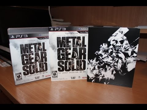 Metal Gear Solid The Legacy Collection Unboxing (PS3)