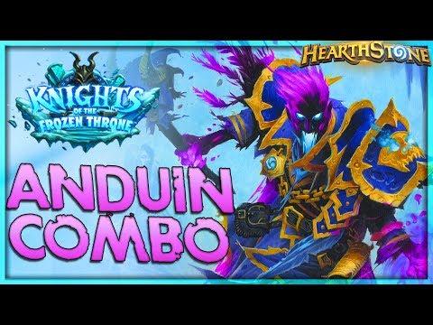 Shadowreaper Anduin Combo Priest Deck Tech 🌟 HEARTHSTONE  | Frozen Throne Legend