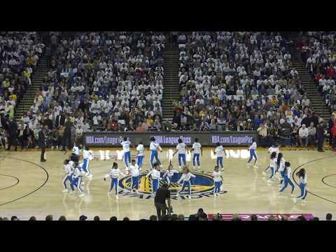 Warriors Jr Jam Squad 2017-2018 | Warriors vs Rockets | Perm